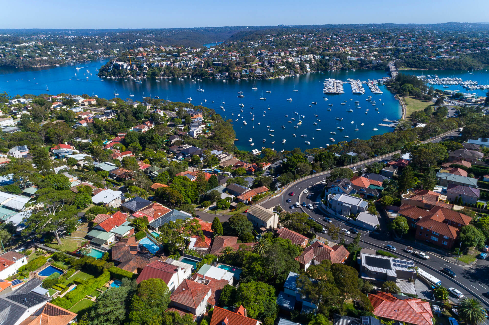 Pittwater drone photography
