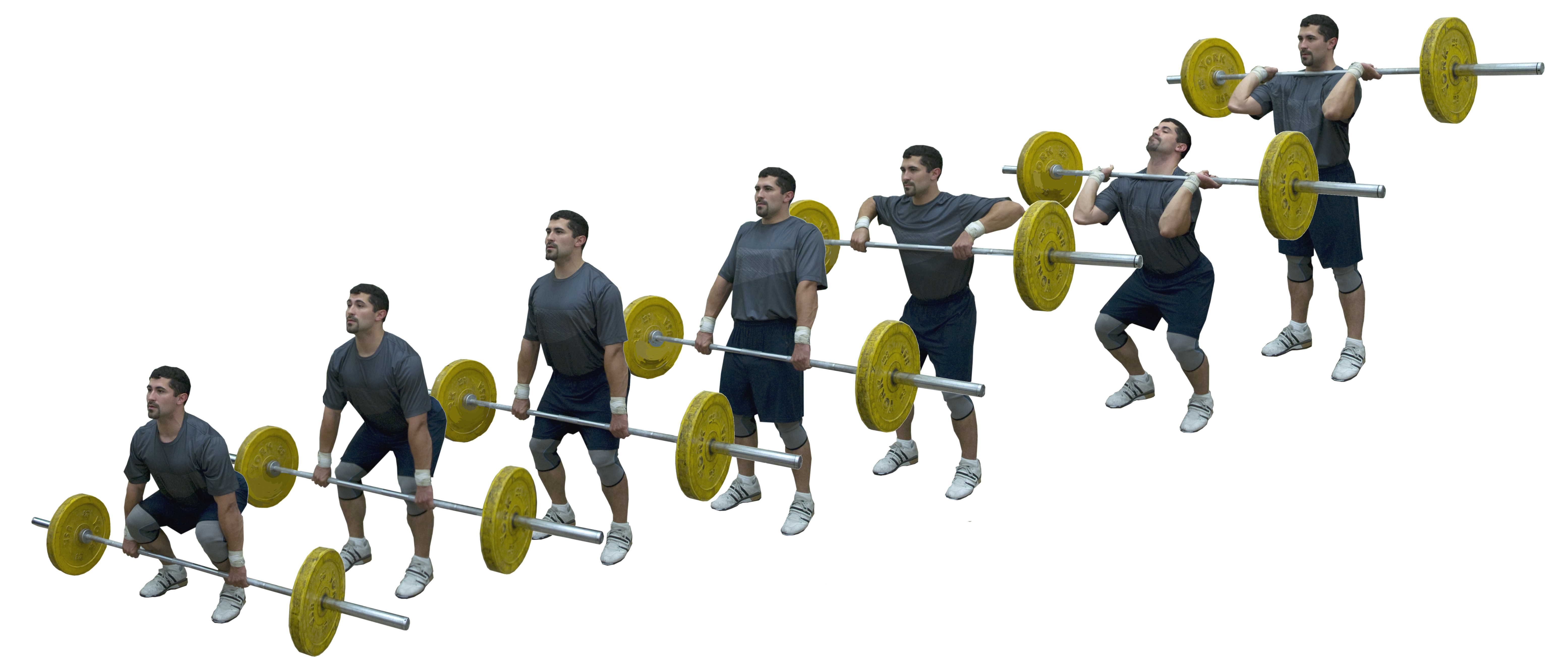 How to Perform a Power Clean Lift