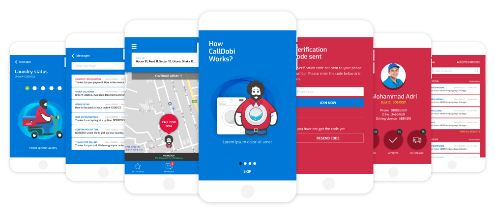 CallDobi mobile app