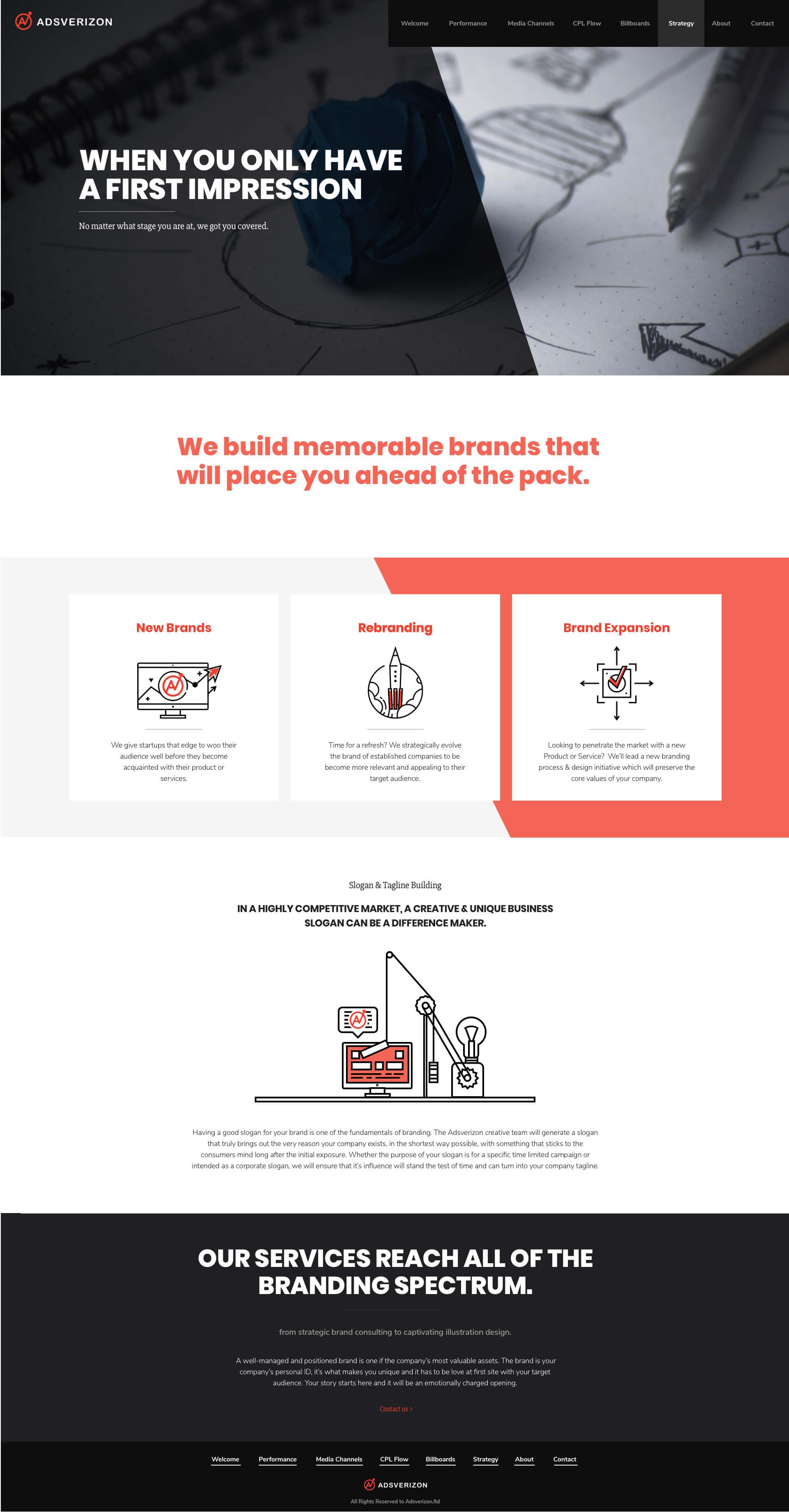 DesignMe Website Design