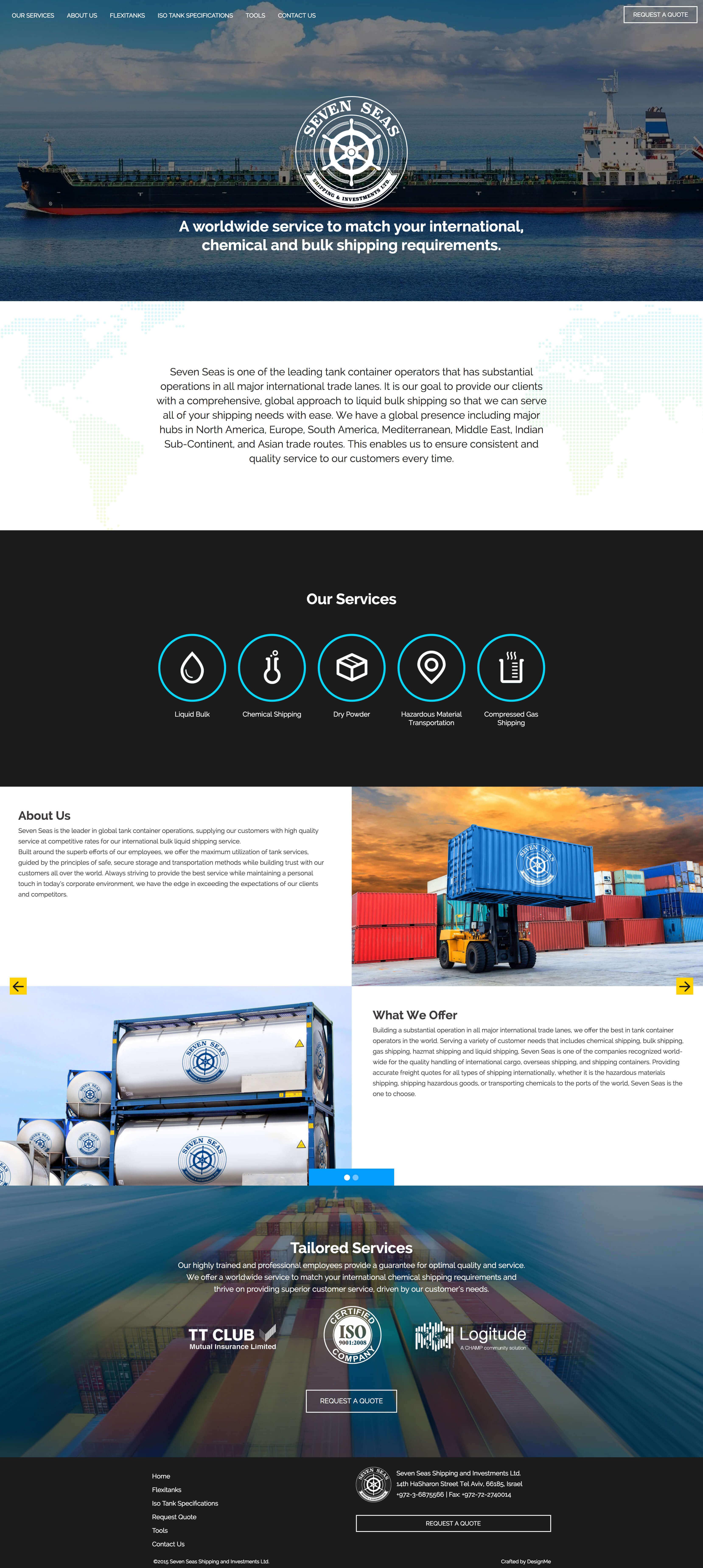 Seven Seas Website