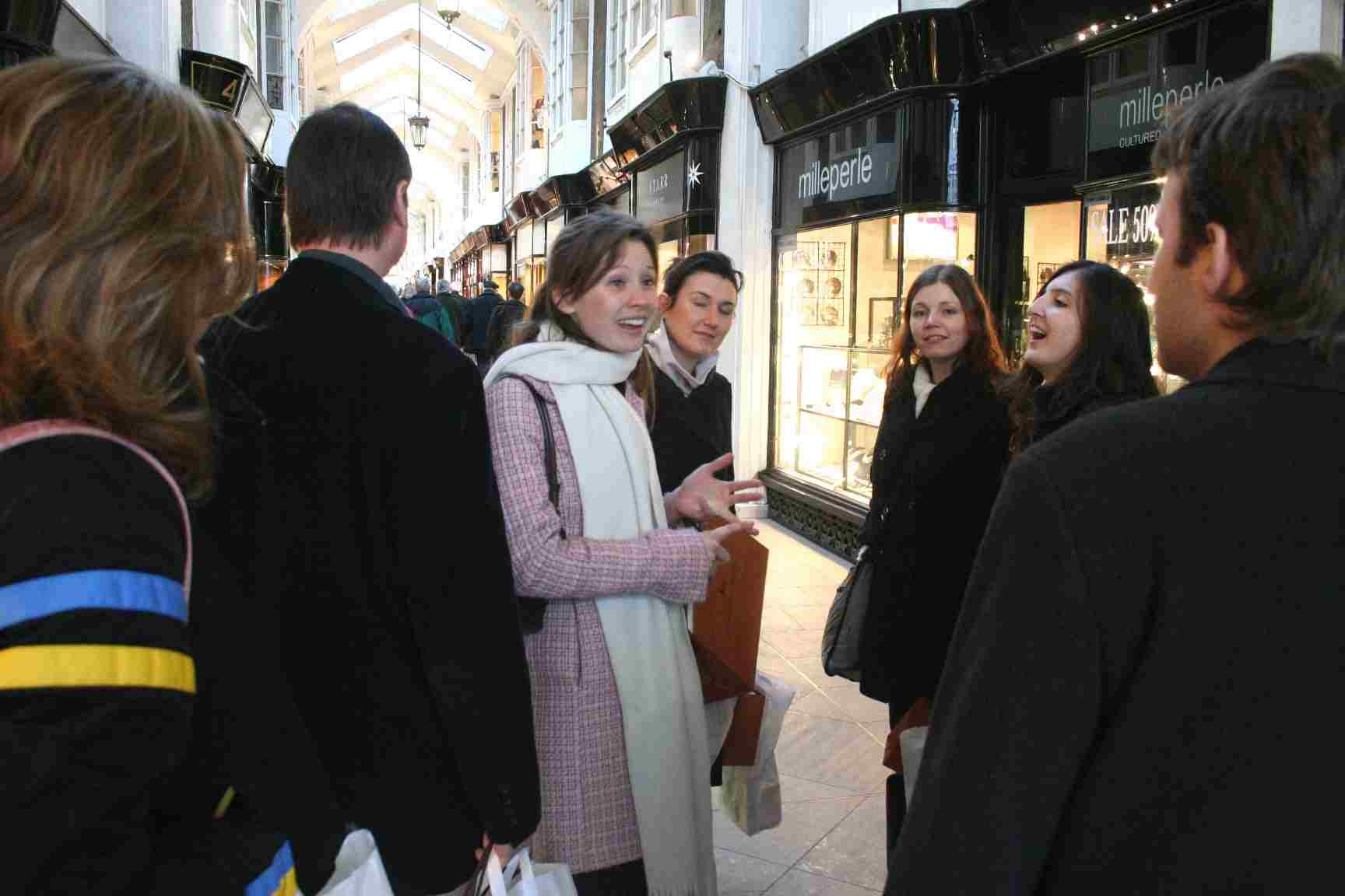 Mayfair Chocolate Ecstasy Tour London Walking Tour Burlington Arcade