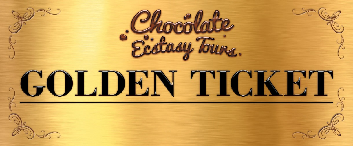 Chocolate Tour Golden Ticket