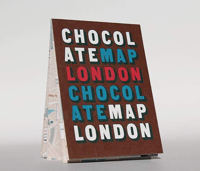 Map of London's Chocolate Shops