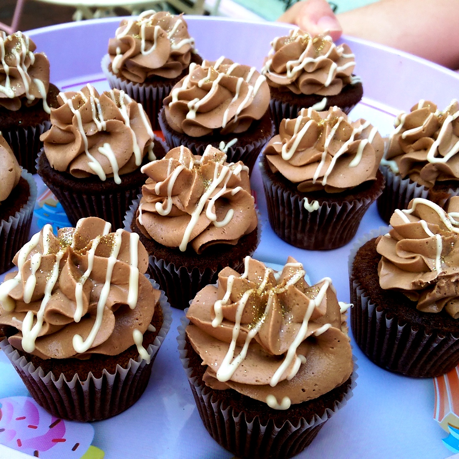Brighton Chocolate Ecstasy Tour chocolate cupcakes