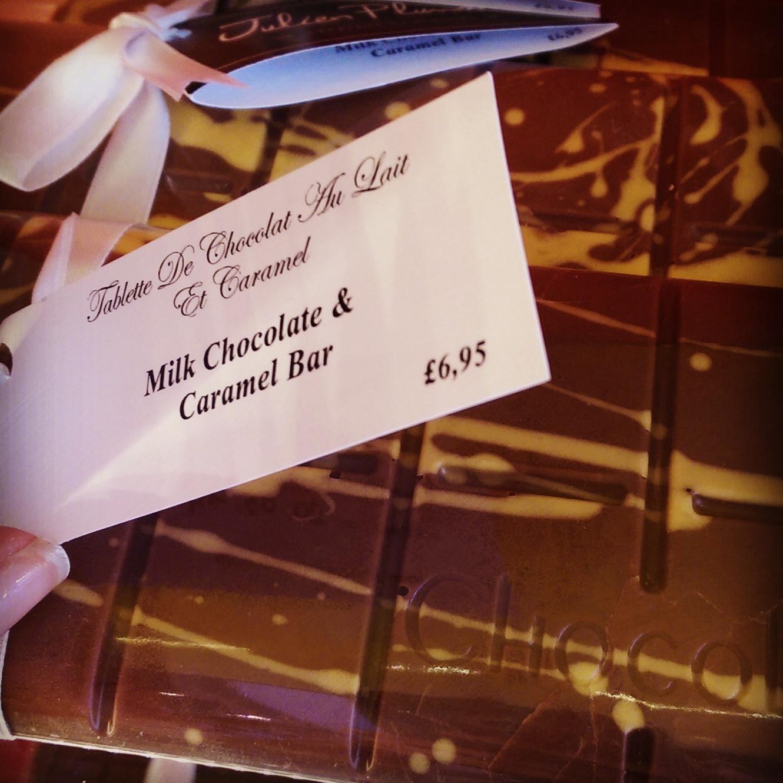Brighton Chocolate Ecstasy Tour chocolate caramel