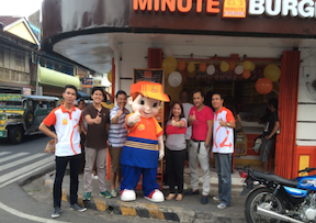 Minute Burger Store Opening