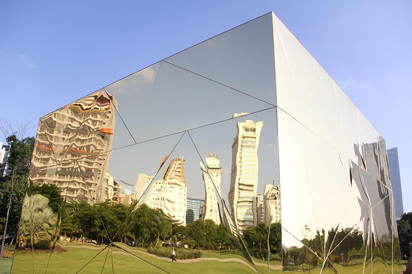 Expansão do programa de reciclagem do grupo Carrefour contou com obra interativa e lúdica.