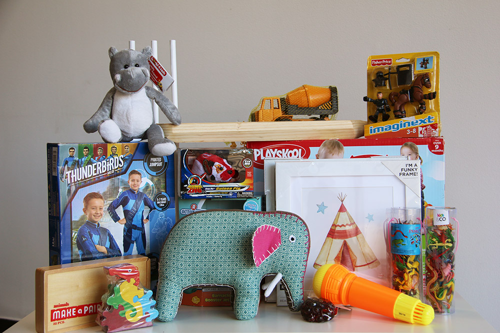 Christmas give away toys and gifts