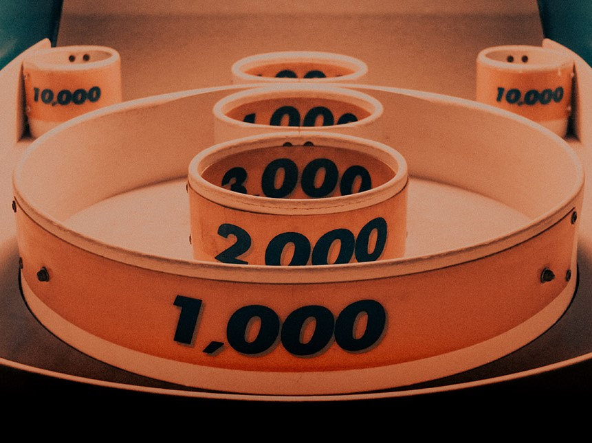 Calculating Ohmhours illustrated by rings with numbers