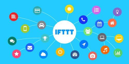 IFTTT connection illustration
