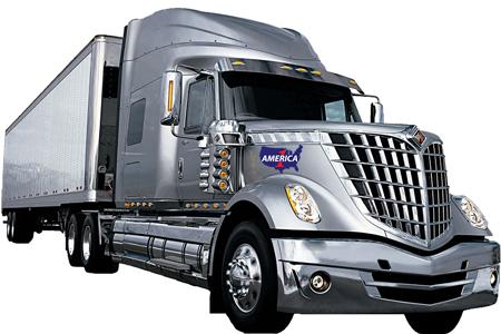 Drayage service truck