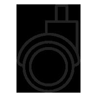 ícone de rodízio
