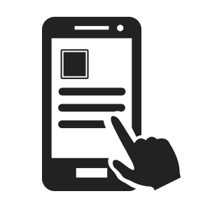 ícone de smartphone