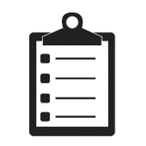 ícone de prancheta