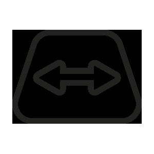 ícone de espaço amplo