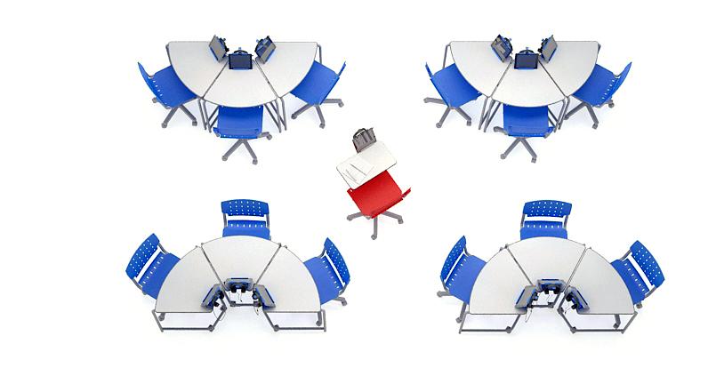 12 mesas link em trios