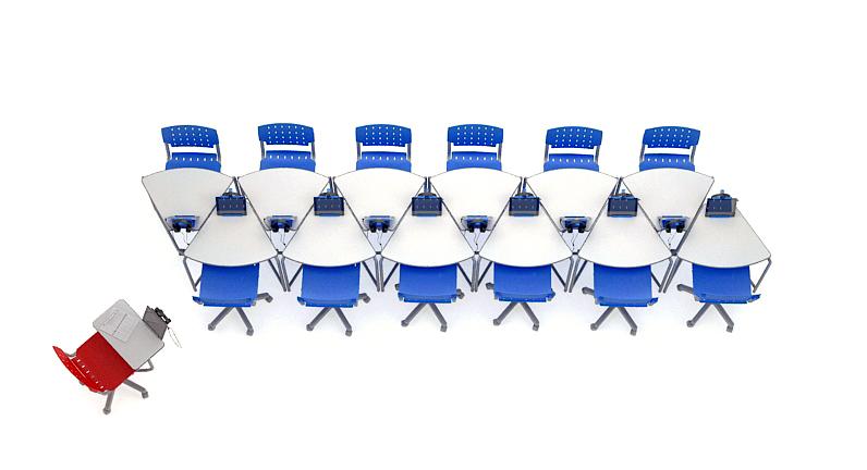 12 mesas link em arranjo para reunião
