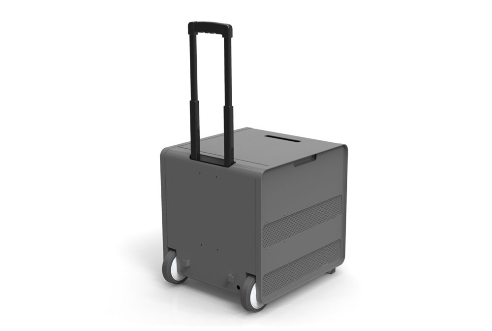 carrinho para transporte de kit kinect