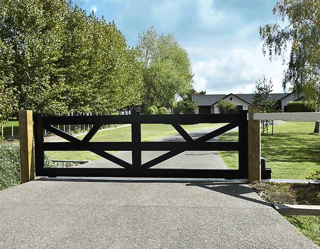 Sliding Fence Gate Driveways