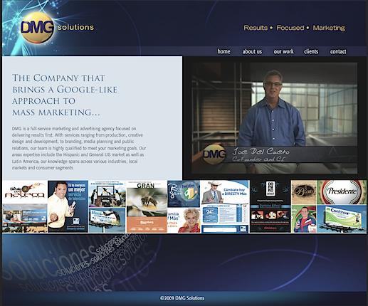 our original website