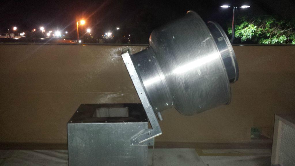 Exhaust Fan Hinge Kit