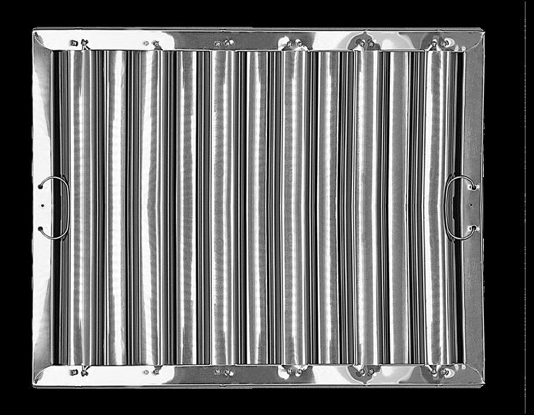Stainless steel hood filters