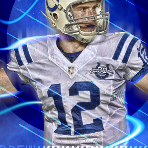 Andrew Luck Poster
