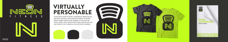 Neon Fitness Stylescape Design