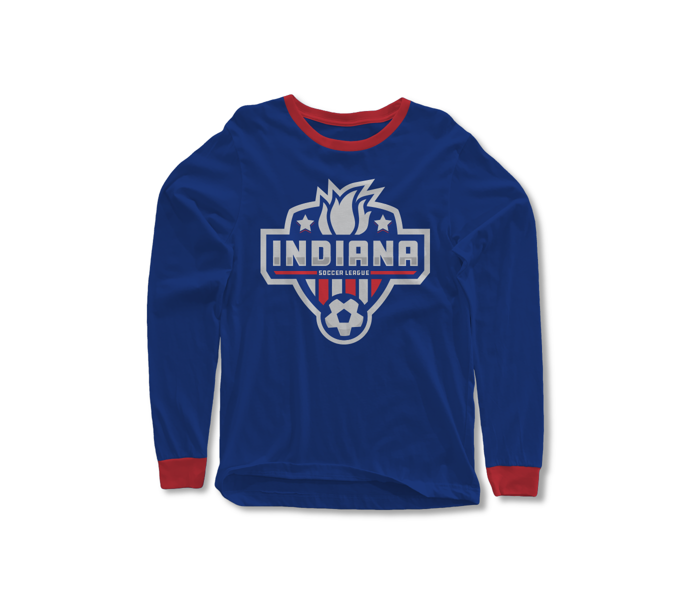 Indiana Soccer League Shirt Mockup