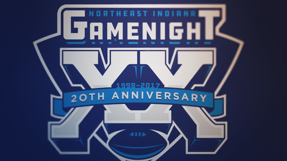 Northeast Indiana 20th Anniversary Sports Logo Design