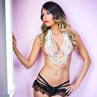 sexy boudoir photograph