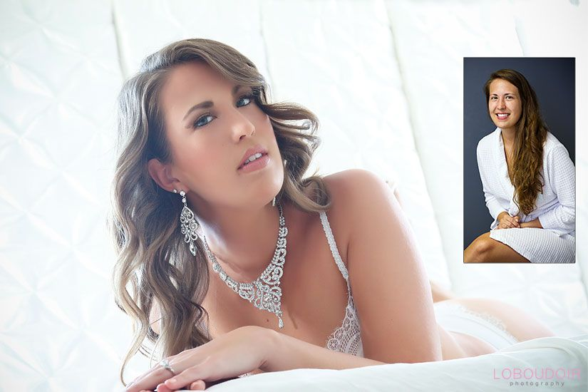 NJ bridal boudoir photography by: Loboudoir Photography