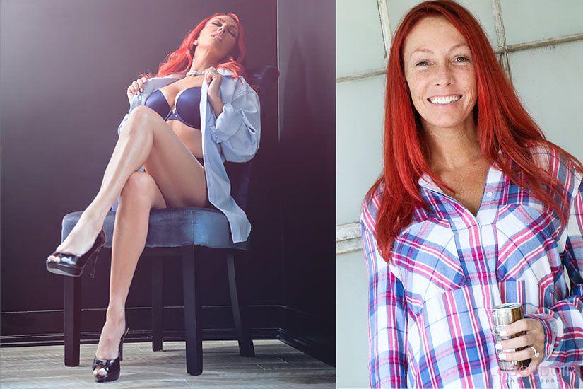 Hot boudoir poses by: New Jersey Boudoir Photographer