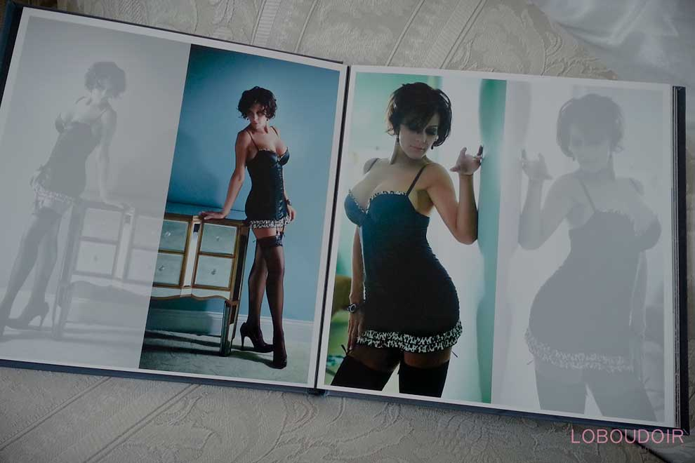 NJ Boudoir Book from Photo Shoot Studio - Hazlet NJ Loboudoir