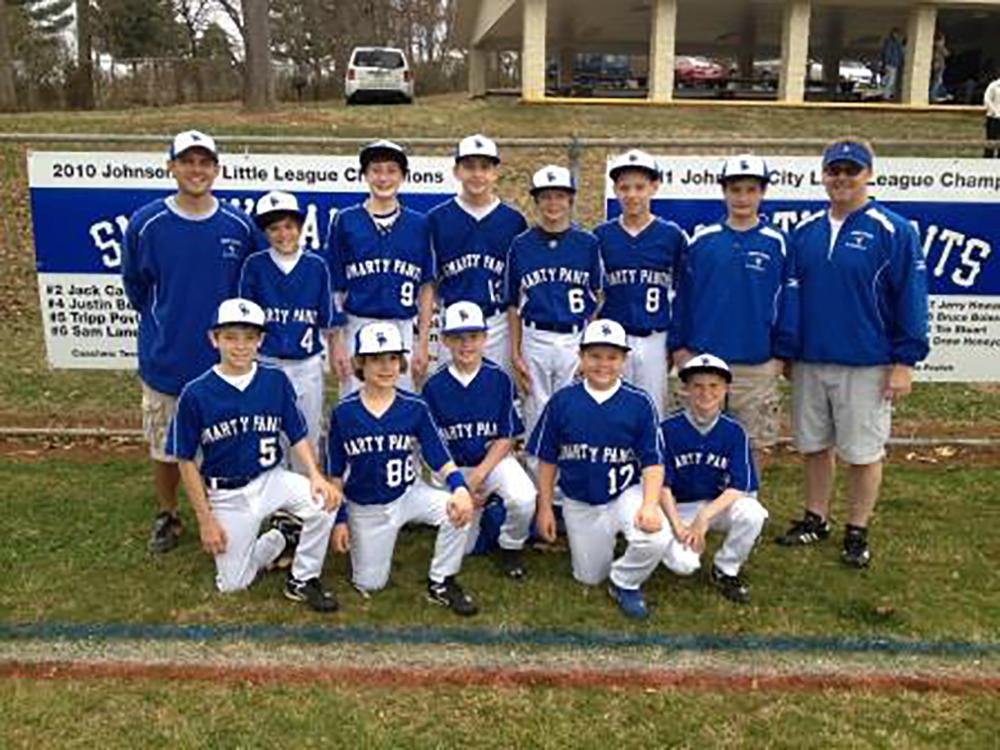Smarty Pants 2014 Little League team picture