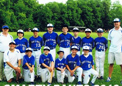 Smarty Pants 2013 Little League team picture