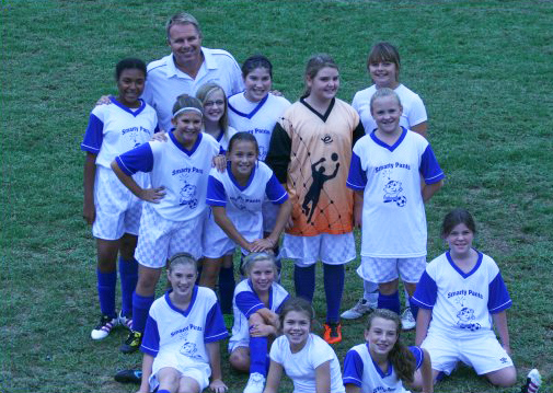 Smarty Pants 2011 girls soccer team picture