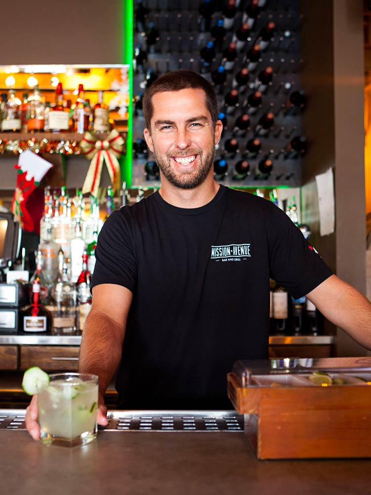 Owner of Mission Avenue Bar and Grill, Cameron