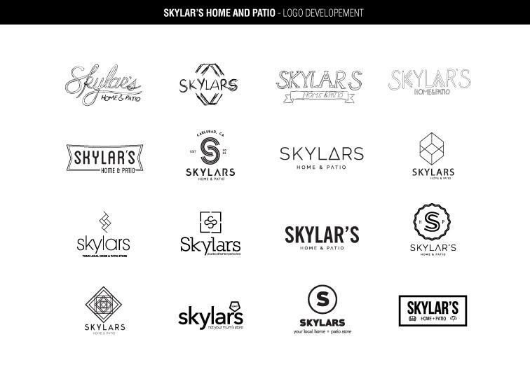 Skylar's Logo Development