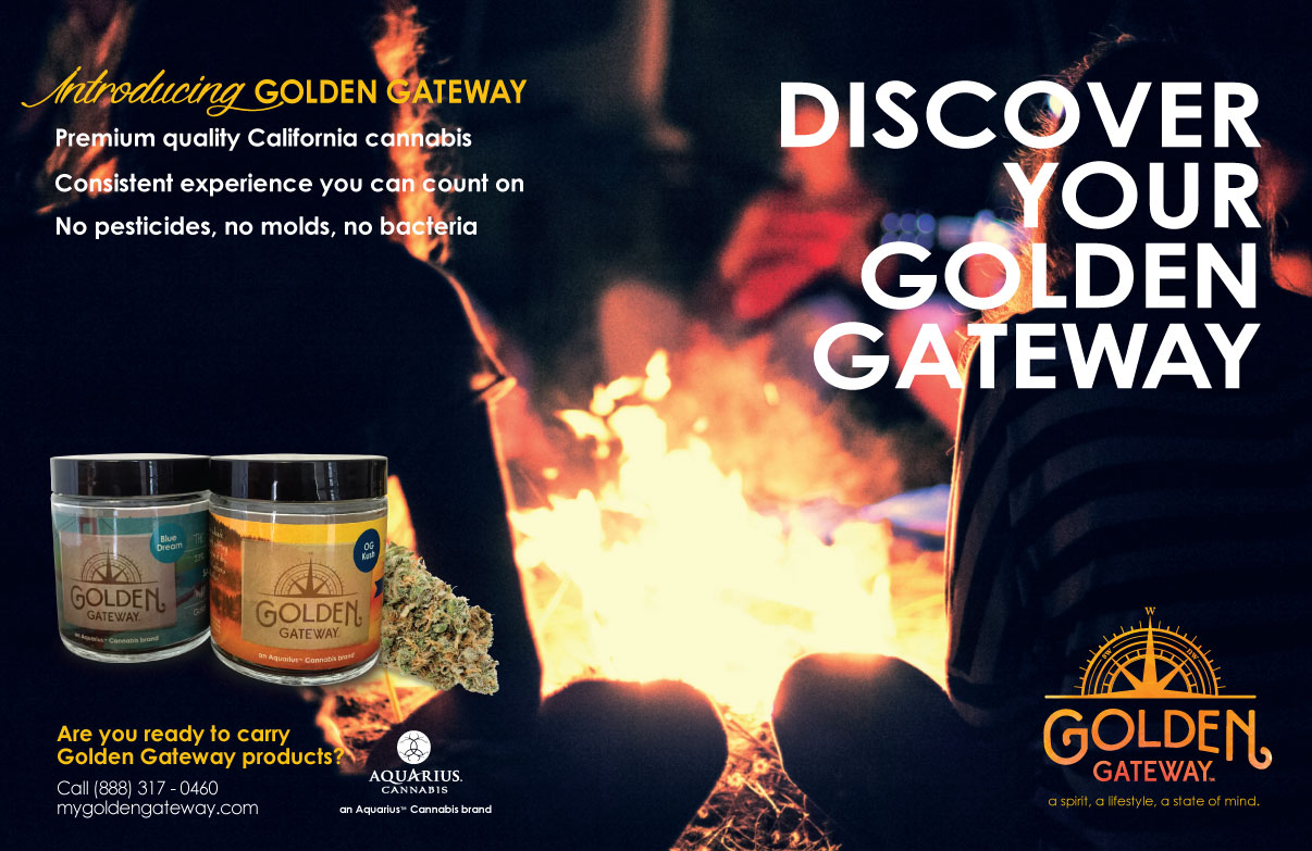 Golden Gateway's magazine spread.