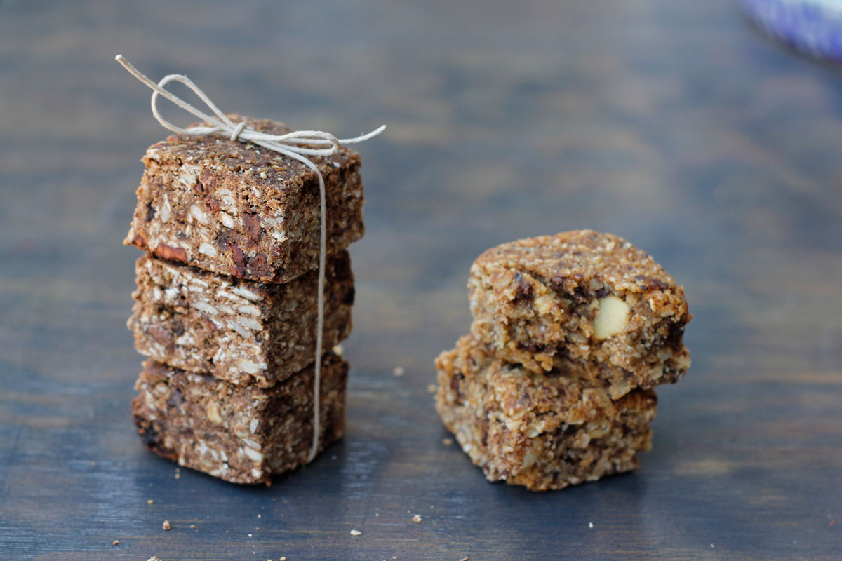 Sherpa Energy Squares stacked together. Yum!
