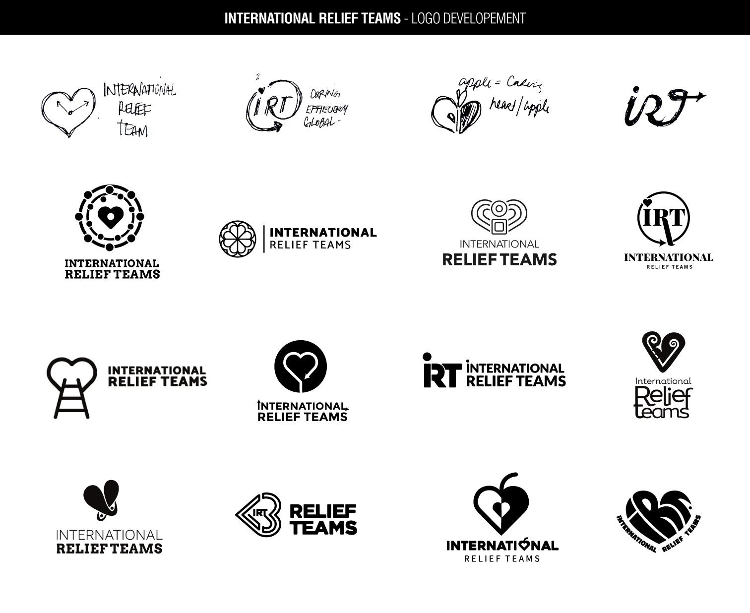 IRT's logo development