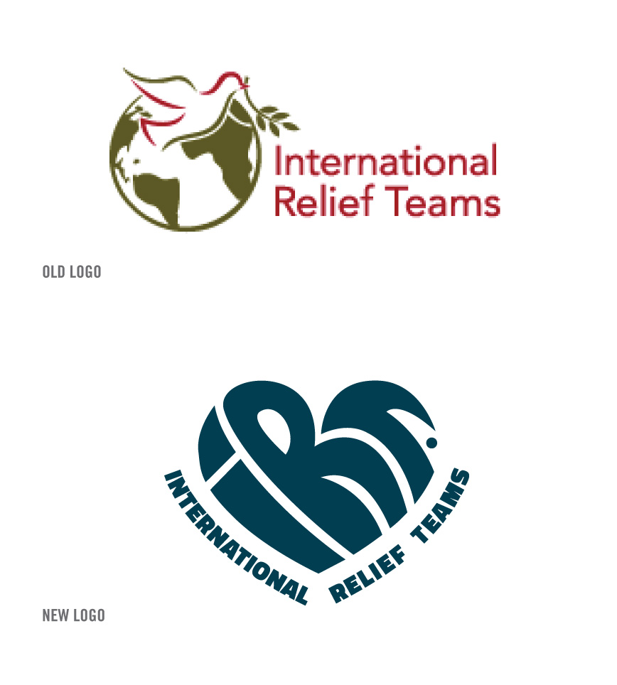 IRT's old and new logo