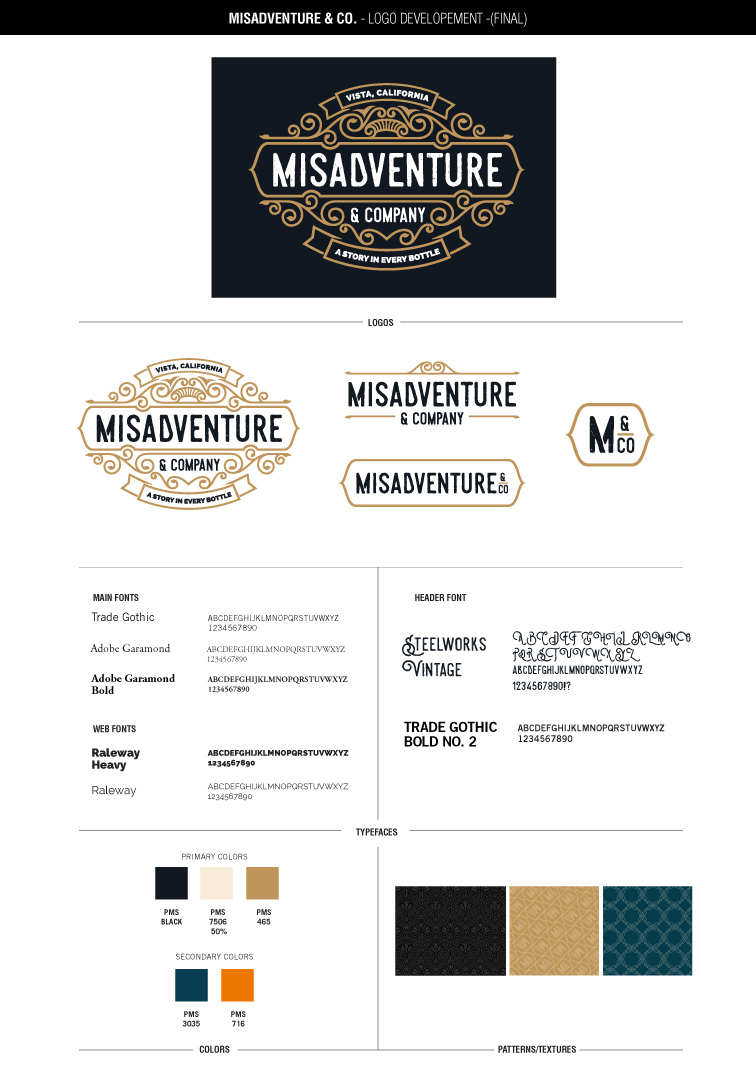 Misadventure and Company's style guide