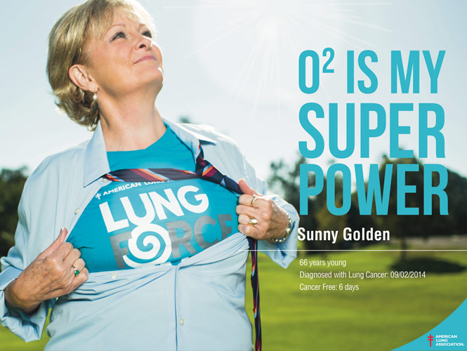 Sunny Golden, Lung Cancer Survivor