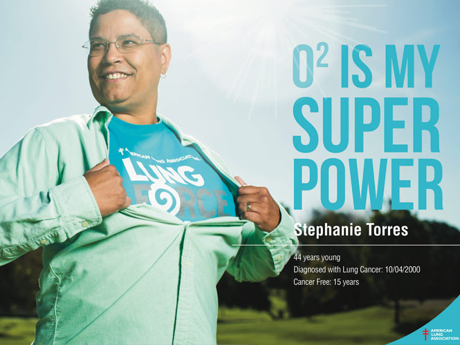 Stephanie Torres, Lung Cancer Survivor