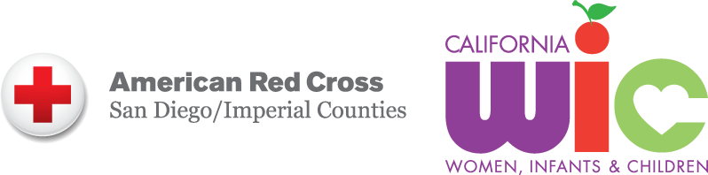 American Red Cross San Diego/Imperial Counties WIC logo