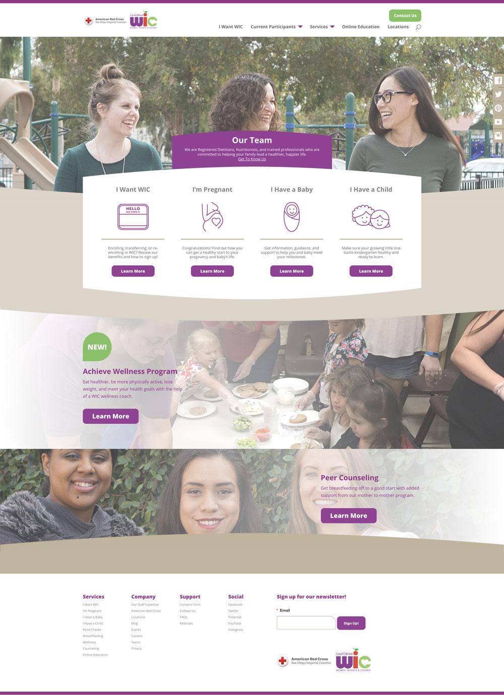 WIC's new site