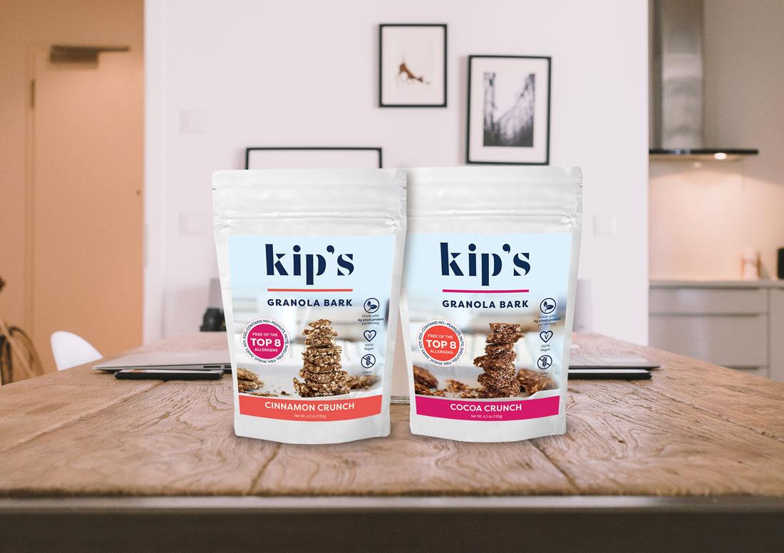 Kip's 2 flavors